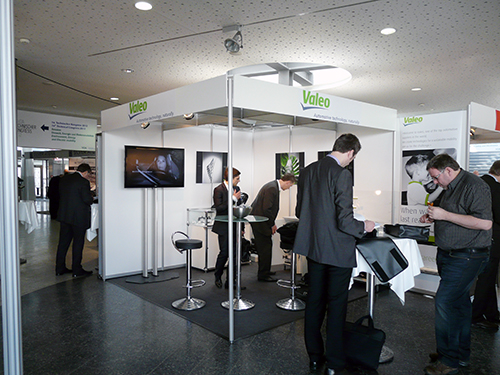 VDA KONGRESS, Messestand, Systemstand, 3x3m